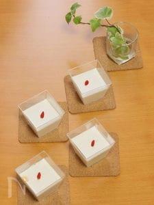乳製品不使用!! 豆乳の杏仁豆腐