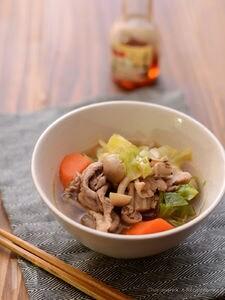 1食野菜150gの中華風スープ