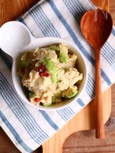 ツナとアボカドのアボポテサラダ