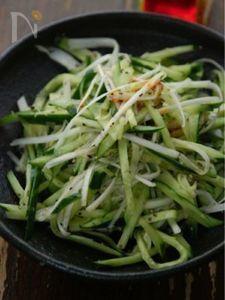 きゅうりとねぎのチャイナサラダ