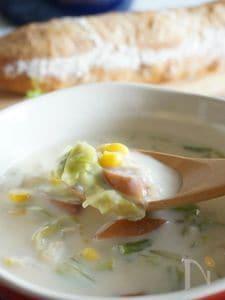 和風豆乳クリームスープ