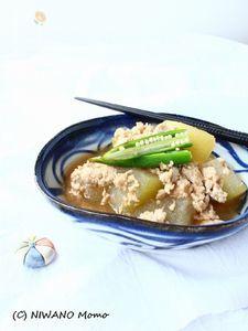 冬瓜の鶏そぼろ煮
