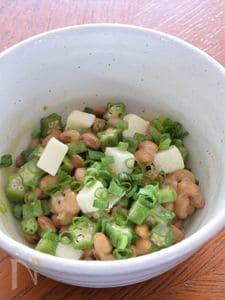 長芋オクラ納豆