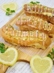 レモン香るエクレアパイ