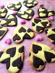 バレンタインに♪ハートがかわいいクッキー