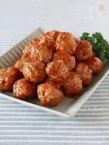 【合いびき肉】揚げないミートボール