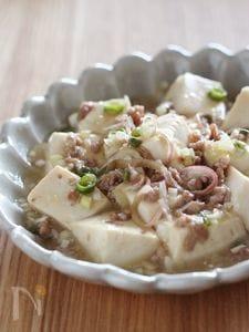 実山椒で和風麻婆豆腐