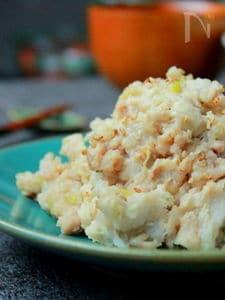 今が旬の里芋!!里芋と鶏の和風サラダ