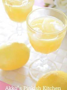 フレッシュレモン果汁のオレンジジュース割り 大人ならコレね!
