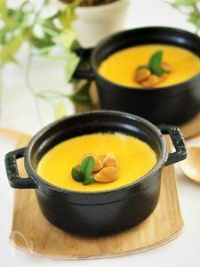 ストウブ鍋で南瓜の冷やし茶碗蒸し