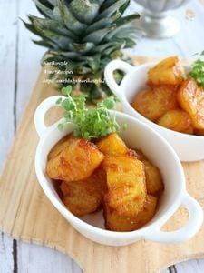 甘辛ジンジャーパイナップル