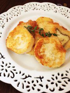 *一口サイズで食べ易い♪麩レンチトースト【卵不使用】*