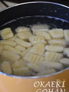 ジャガイモのニョッキ