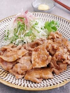 豚みそ生姜焼き
