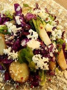 今が旬の野菜で彩り鮮やかサラダ バルサミコ風味