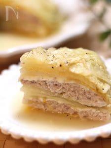 チーズinミルフィーユ白菜