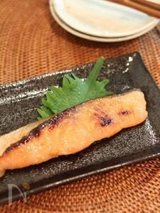 鮭の味噌つけ焼き
