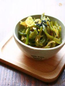 ピーマンと新生姜の佃煮