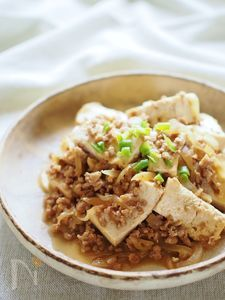 焼肉のタレでマーボ豆腐風