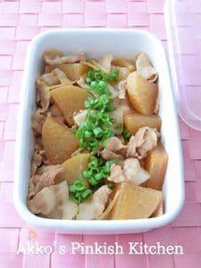 豚バラ肉と大根の煮物 作り置きレシピ 材料入れるだけ!