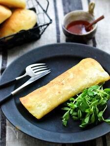 【3分】お弁当にも皆大好き♡フライパンde揚げトルティーヤ