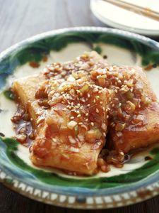 韓国風、餅のピリ辛じょう油煮