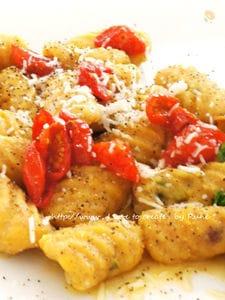 ドライプチトマト&全粒粉のポテトニョッキ