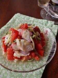 タコとトマトのイタリアンサラダ