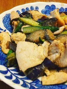 【きゅうり活用法】鶏肉と夏野菜の炒めもの