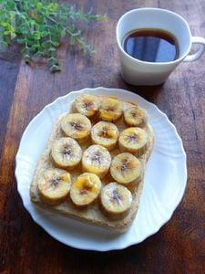 ハニーシナモンバナナトースト