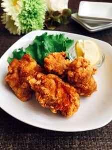 ちょっとだけ・濃いめの味付け✴︎鶏肉のザンギ