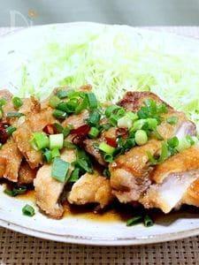 鶏のから揚げ(香味ソースかけ)