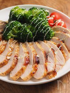 鶏むね肉のタバスコ焼き
