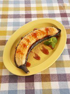 和風焼きバナナ
