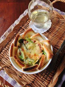 小松菜のパンキッシュ