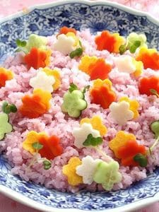 花野菜の散らし寿司