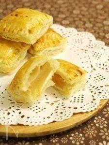 りんごのコンポート&アップルクリームチーズパイ