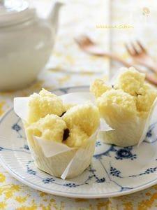 甘酒蒸しパン(ホットケーキミックス使用)