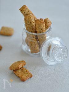 炒り玄米のジンジャークッキー
