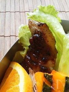 〜鰆のプルーン味噌クリームソース〜