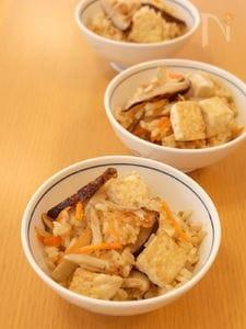 冬至におすすめ どんどろけ飯(豆腐めし)