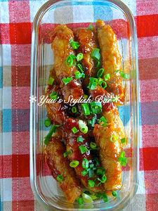 お弁当にも入れやすい♡『豚ロールのはちみつ生姜焼き』