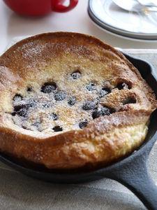 カリふわ!混ぜて簡単ダッチベイビーパンケーキ
