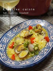 ポルチーニ茸&海鮮のソパデアロス