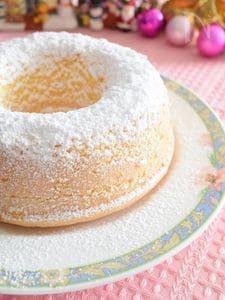 粉雪のリングケーキ カップル&DINKSのクリスマスに♪