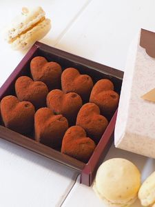 ハート💛の生チョコ〜隠し味はアレ