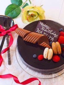 コツさえつかめば簡単!グラサージュ チョコレートムースケーキ
