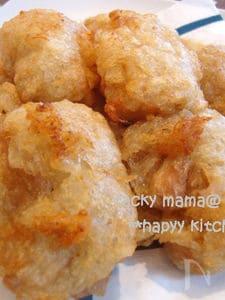 お餅みたい☆もちもち長芋の揚げ団子