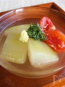 冬瓜とトマトの冷やし鉢