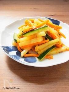 作りおきおかず * 3色野菜のおかかきんぴら